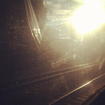 View from train window by Vradler