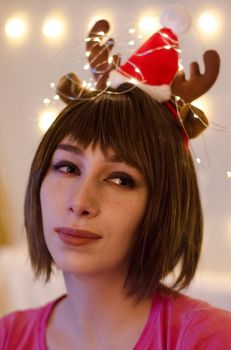 Merry Christmas Life is Strange Cosplay by yencys