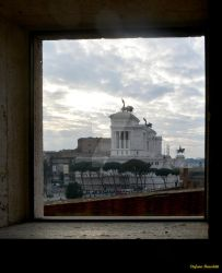 View of Rome from the ancient Trajan markets by Book-Art