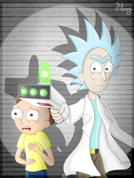 - Let's go, Morty! - by TheTigressFlavy