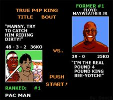 Punch Out Pacquiao by Dencii