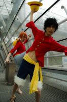 Luffy and Nami - One Piece by SecondImpactCosplay