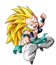 Gotenks Ssj 3 by maffo1989