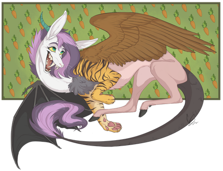 Commission 10 -  Misery by VanyCat