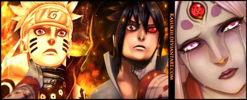 Naruto 681 : Tears by Kasukiii