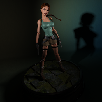 Classic Raider - The Action Figure by tombraider4ever