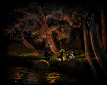 Team 7 Camp-out by AllyHaert