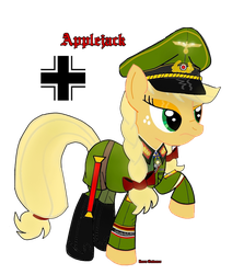 Field Marshall Applejack. by ImperialAce