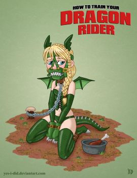 How to Train Your Dragon Rider by Yes-I-DiD