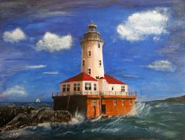 Chicago Lighthouse by dx