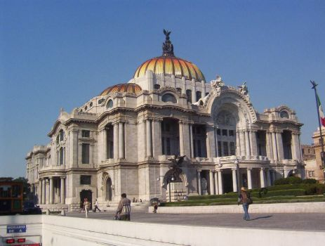 Bellas Artes Mexico by Alexpintor