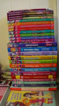 Current Collection of MLP and EQG Novels (Feb2018) by ThomasZoey3000