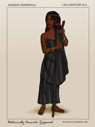 Historically Accurate Tzipporah by Wickfield