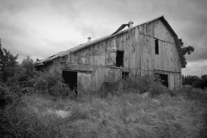Old Barn near Chelsea, Quebec, Canada by ClaudeDupont