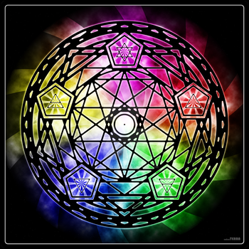 Grand Elemental Pentagram by radicalTERRA
