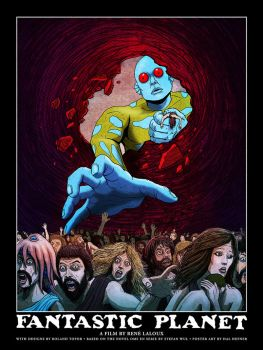 FANTASTIC PLANET POSTER by HalHefnerART