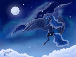 Queen of the night by Lionylioness