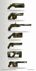 Pistols and Revolvers by TomEdwardsConcepts