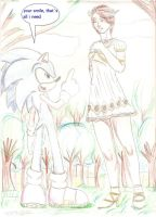 sonic and elise by DANYANTTO