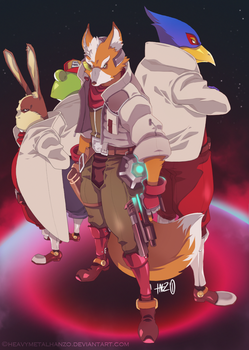 Team StarFox by HeavyMetalHanzo