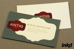 Antique Furniture BusinessCard by inkddesign