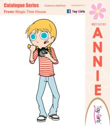 Toy Girls - Catalogue Series 101: Annie by mickeyelric11