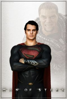 SM06 Man of Steel (2013) by eliwingz