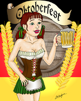 Oktoberfest by DarkRubyMoon