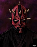 Portrait of a Sith Lord by stourangeau