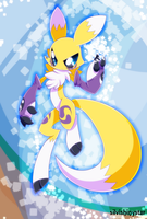 Renamon by SilviShinyStar