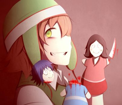 Mirai Nikki 5-th by Likesac