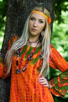 Hippie Girl by hobolog