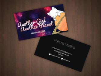 Business Card AGAP by Paloma182