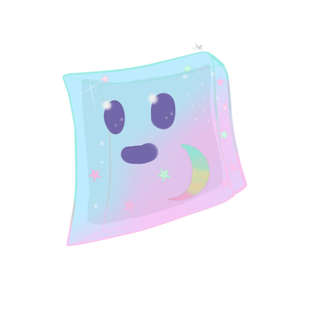 MC OC- Pearl the Rainbow Star Slime by Daydallas