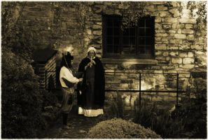 Medieval Event at Scaplen's Court, Poole by wafitz