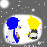:.: Len and Kaito: Stars :.: by kagomelover245