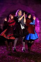 The Hobbit - 3 Angels for Thorin (Dwarven Lolita) by leashed-freak