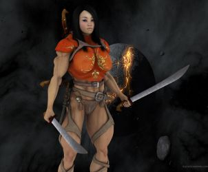 Asian Amazon Warrior Lin 2 by vince3