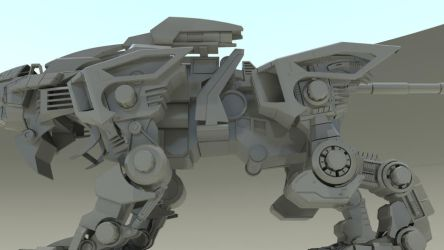 Project Liger Zero 2011 - 05 by 3DRaptor
