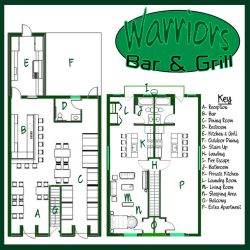 [Earth-27 Living] Warriors Bar and Grill by Roysovitch
