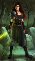 Lilith Versea-Stormwind (Commission) by KaRolding