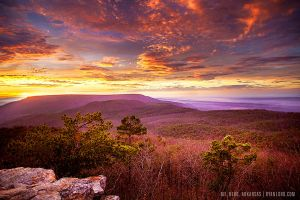 Mt. Nebo Sunset by Ryan Lord by RyanLord