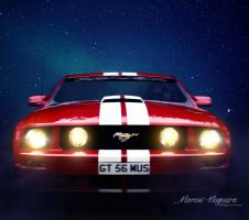 Mustang by marcosnogueiracb