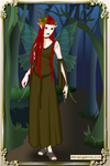 Rose Thornton - the Forest Winged Elf by SassyDragon18