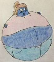 Ariana Grande Blueberry by WarioTheInflator