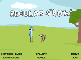 Regular Show Title Page by radstylix