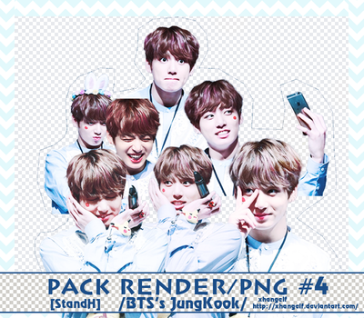PACK RENDER/PNG #4 // 7PNG BTS's JUNGKOOK by xhangelf