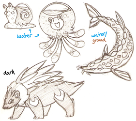 Fakemon set (7) by Coonae