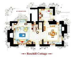 Rosehill Cottage from THE HOLIDAY - Ground floor by nikneuk