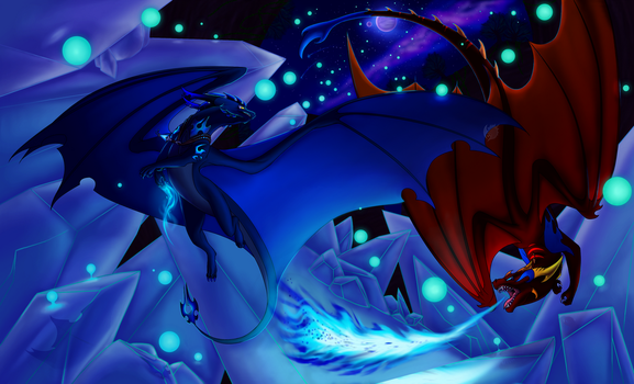 .:: Crystal Fissure ::. by CriexTheDragon